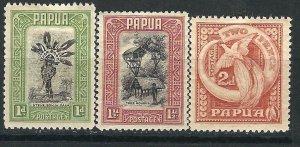 New Guinea 95-97 SG 131-133 MLH VF 1932 SCV $25.00