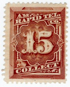 (I.B) USA Telegraphs : American Rapid 15c (Collect)