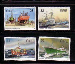 Ireland Sc 844-47 1991 Fishing Fleet stamp set mint NH