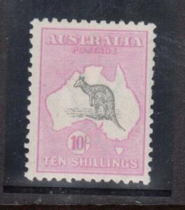 Australia #55 Shade (SG #43b) VF Mint