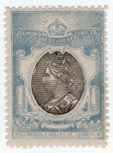 (I.B) QV Cinderella : Unofficial Diamond Jubilee Issue (WS Lincoln)