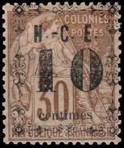 NOUVELLE-CALÉDONIE - N°12 10c/30c Alphée Dubois Neuf* TB (ref.00852b)