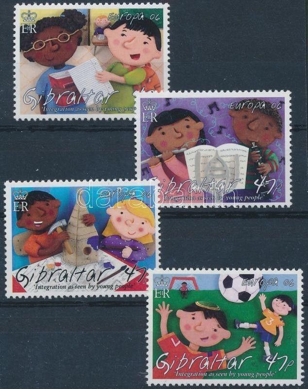 Gibraltar stamp Europa CEPT: Integration set 2006 MNH Mi 1165-1168 WS187471