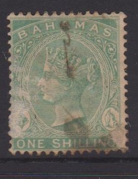 Bahamas Sc#23 Used - scuffed on front