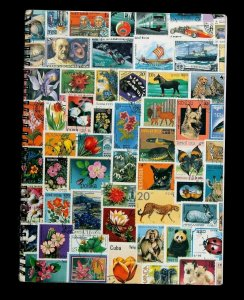 Wordwide Old Stamp Collection Lot of 1008 MNH MH Used Vintage Stock Book Album