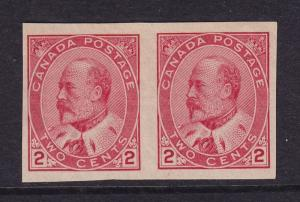 Canada Scott # 90A Pair VF-XF OG never hinged nice color cv $ 200 ! see pic !
