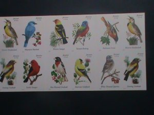 UNITED STATES-2014-SC#4891b COLORFUL BEAUTIFUL LOVELY SONG BIRDS MNH BOOKLET