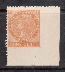 Prince Edward Island #11vii VF/NH Imperforate At Right And Bottom Margin