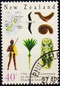 New Zealand. 1991 40c S.G.1585 Fine Used