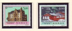 Norway Sc 980-1 1990 Europa stamp set mint NH