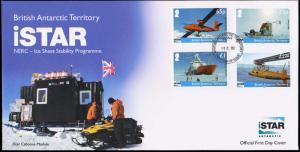 British Antarctic Territory Scott 477-480 Unaddressed.
