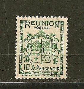 Reunion J17 Postage Due MNH