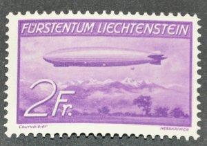 DYNAMITE Stamps: Liechtenstein Scott #C16 – MINT