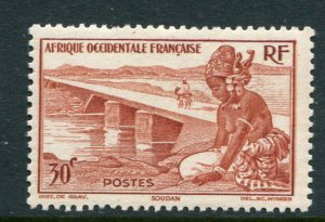 French West Africa #37 Mint - penny auction