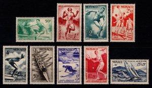 Monaco 1948 Participation in Olympic Games Set [Unused]