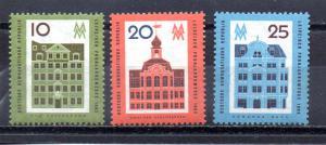 Germany - DDR 595-597 MNH
