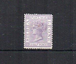 Sierra Leone 1876 1 1/2d MH