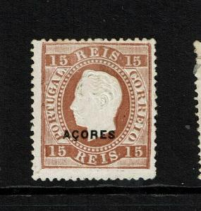 Azores SC# 47, Mint No Gum, perf 13.5, some minor top toning, see notes - S8295
