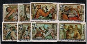 Burundi Scott B65-7,CB35-7 Mint NH (Catalog Value $27.25)