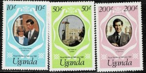 Uganda 1981 Royal Wedding MNH