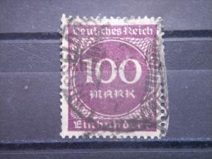 GERMANY, Empire,1922, used 100m, Numeral 229
