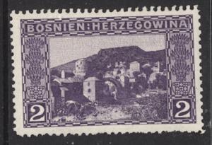 Bosnia 1906 Scott #31 MLH