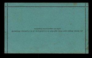 Austria 1880s 3KR Letter Card Unused - L11320