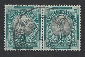 SOUTH AFRICA SC# 33 F-VF U 1930