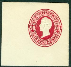 EDW1949SELL : USA 1870-71 Scott #U105 Very Fine, Mint. Fresh & Choice. Cat $140.