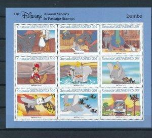 [22609] Grenada Grenadines 1988 Disney Movie Dumbo MNH