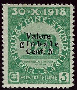 Italy  Fiume B4 Mint OG F-VF SCV$17.50...Win a Bargain!
