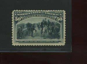Scott 240 Columbian Mint Stamp (Stock 240-1)