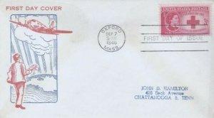 967 3c CLARA BARTON - RED CROSS - McCawley GP