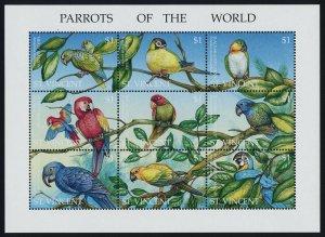 St Vincent 2153 MNH Birds, Parrots