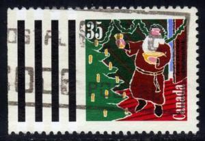 Canada #1342 Santa Claus, used (0.25)