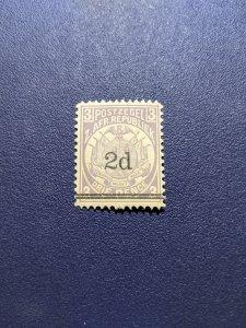 Transvaal 141 F-VFMH, CV $2.40