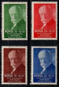 Norway Scott B5-8 Mint hinged (Catalog Value $30.25)