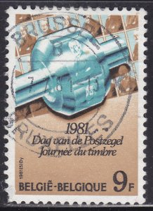 Belgium 1071 Stamp Day 1981