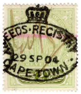 (I.B) Cape of Good Hope Revenue : Stamp Duty £2