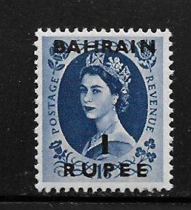 BAHRAIN, 90, MNH, GREAT BRITAIN STAMPS, SURCHD