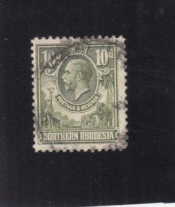 Northern Rhodesia: Sc #9, Used (36213)