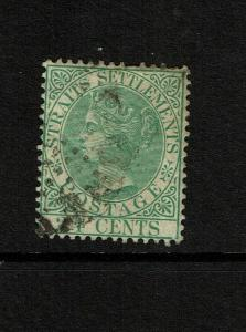 Straits Settlements SG# 68, Used (See Notes) - S7493