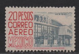$Mexico Sc#c217 M/LH/VF, high value wmk 300, Cv. $75