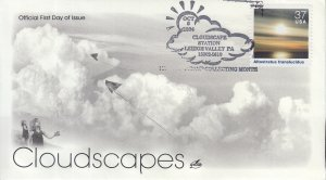 2004 Altostratus translucidus Cloudscapes  (Scott 3878g) Artcraft Clouds FDC