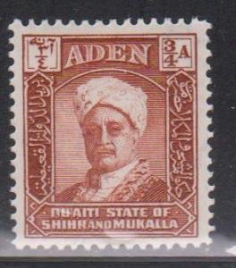 ADEN - MUKALLA Scott # 2 MH - Sultan Sir Saleh bin Ghalib a Qu'aiti