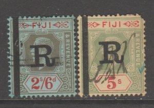 Fiji fiscal revenue  stamp 12-2-