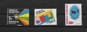 DOMINICAN REPUBLIC STAMPS MNH #JUNIOH24