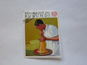 REP. BURUNDI STAMP CTO MINT NOT HINGED # 19