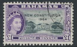 Bahamas  SG 243 SC# 200 Used / FU New Constitution 1964 see scan