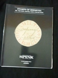 SPINK AUCTION CATALOGUE 2013 BERMUDA 'SAUL' COLLECTION